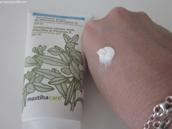 Mastiha care; Treez cosmetics