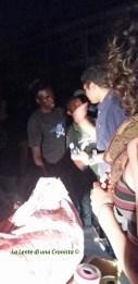 Volontari e migranti, preparativi per la notte