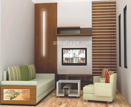 Tip 73 Ruang Keluarga Tiny Living Room di ApartemenRumah Kecil  ANNAHAPE STUDIO Desain Rumah