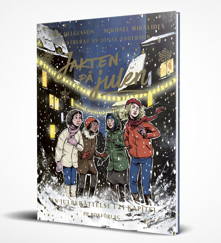julbok jakten på julen adventsbok anna helgesson