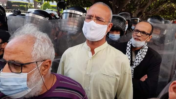 المنع والقمع للمتضامنين مع الشعب الفلسطيني بالرباط