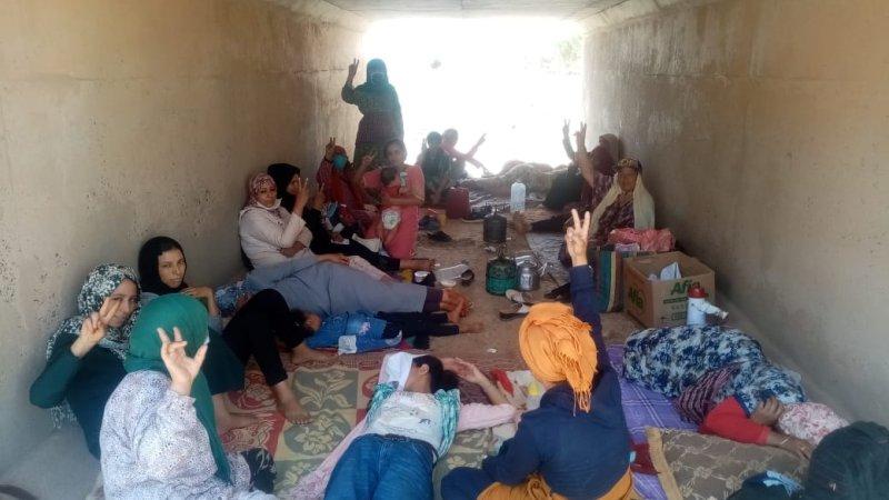 القطاع النسائي للنهج الديمقراطي يتضامن مع نضالات عائلات المعتقلين