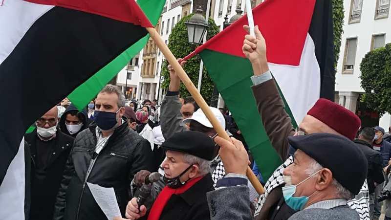 الرباط: بيان الوقفة التضامنية بمناسبة اليوم العالمي للتضامن مع الشعب الفلسطيني