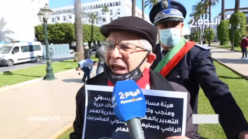 تصريحات وسط الحصار للمتضامنين مع المعتقلين السياسيين