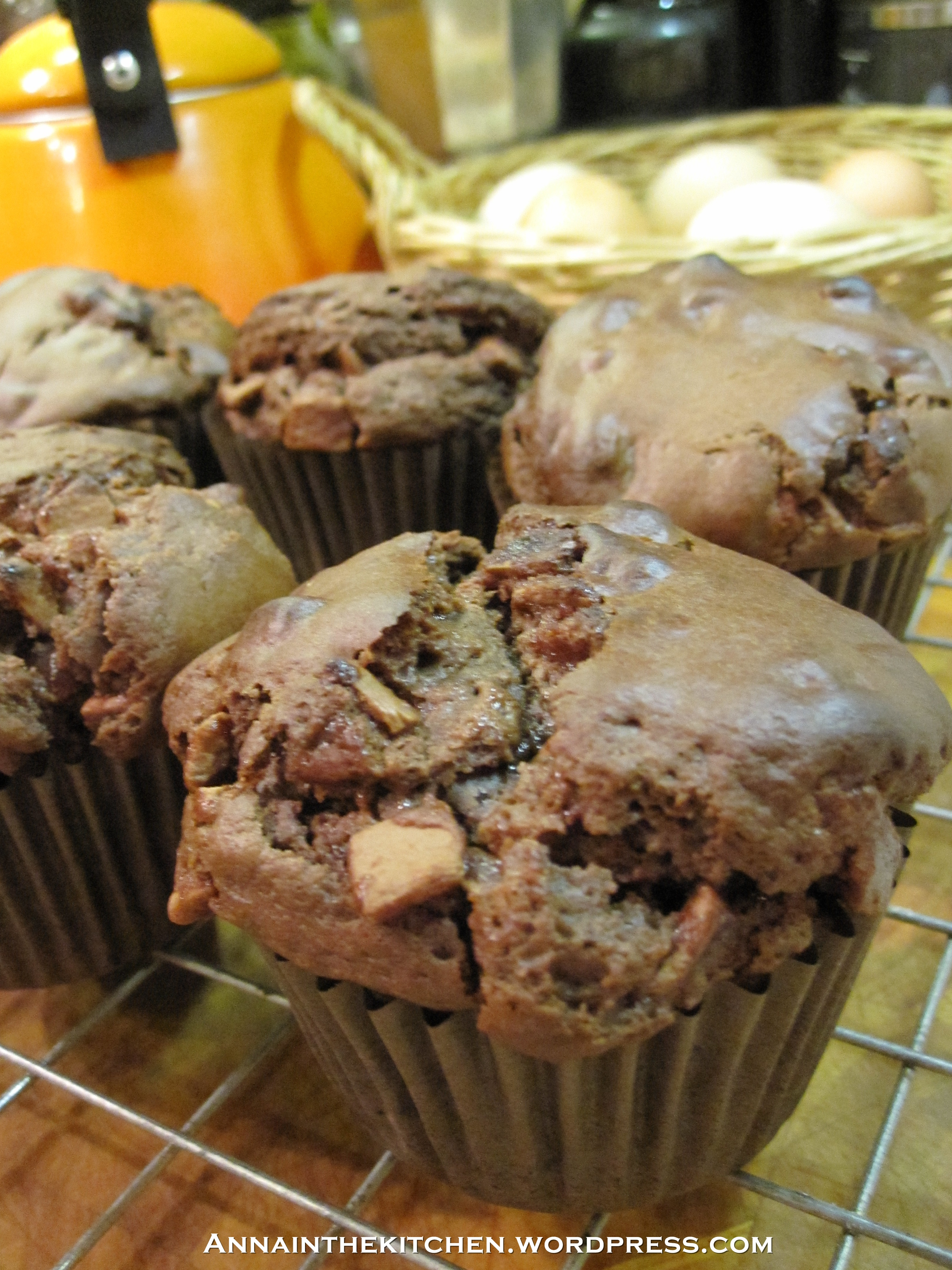 Chocolate Surprise Muffins