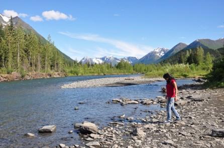 Alaska in summer-On the way to Seward