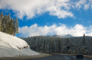 On the road to Mt.Hood