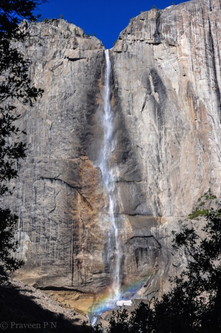 Hike to Yosemite falls