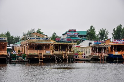 Houseboats of Dal lake