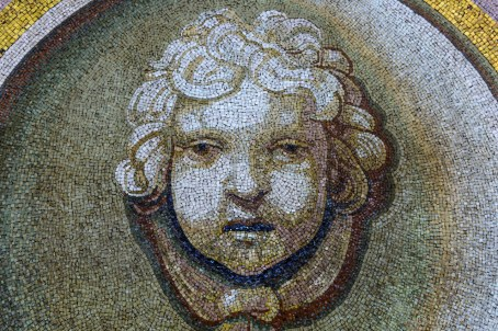 Mosaic art of St.Peter's Basilica
