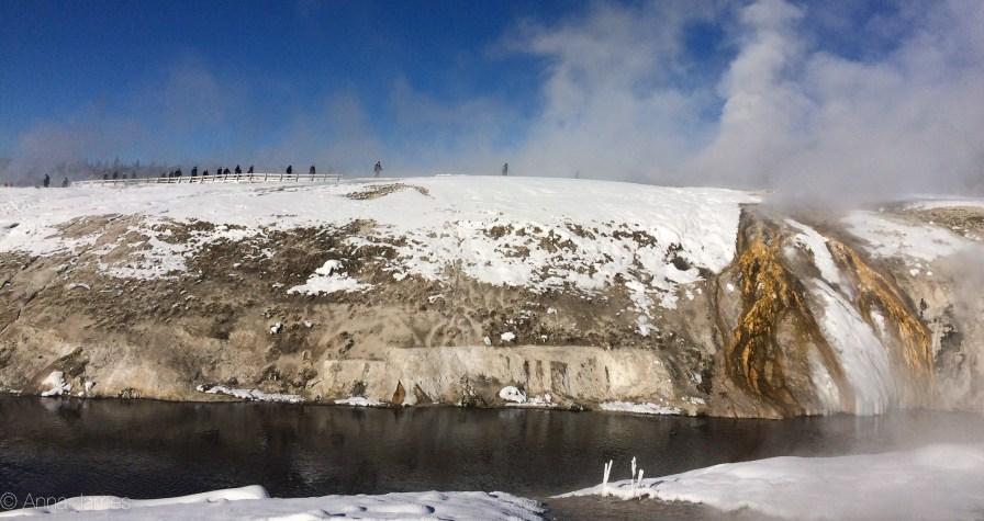 Upper geyser basin trail