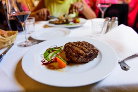 Florentine steak at Trattoria 4 Leoni