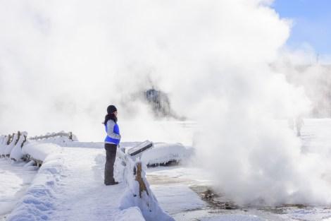 Black sand geyser basin