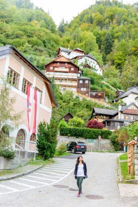 Walking around Hallstatt