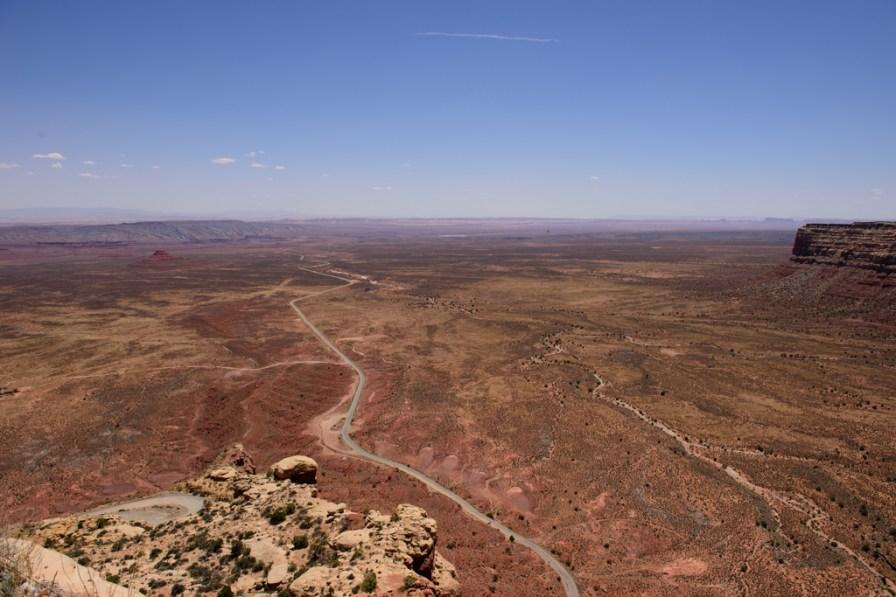 View from Moki Dugway