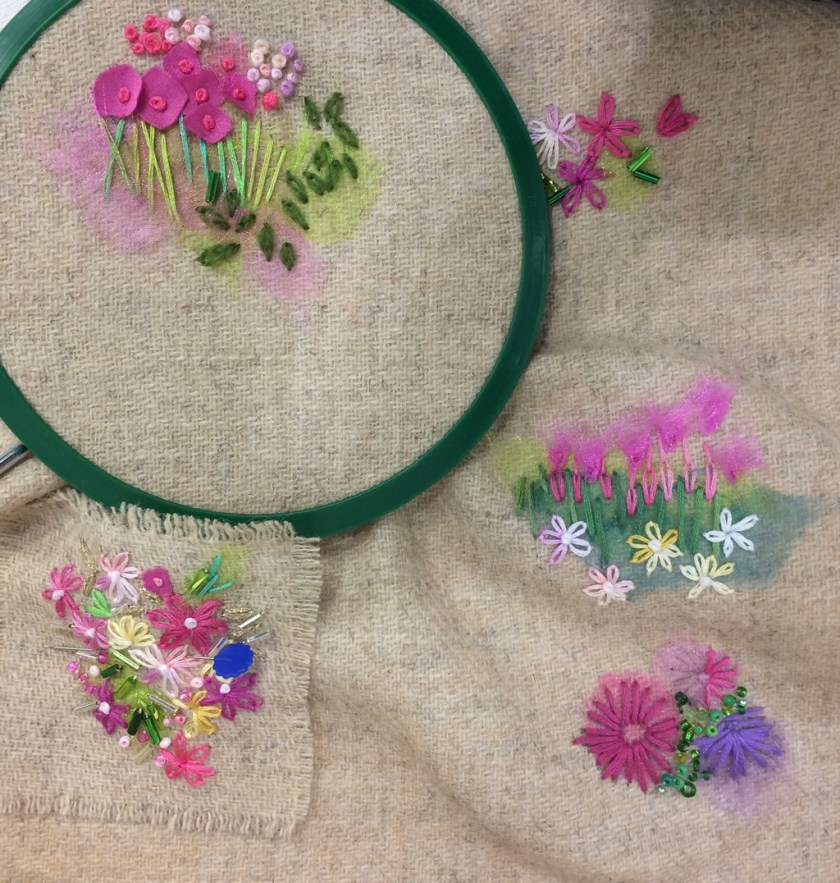 Embroidery at GBSB Live