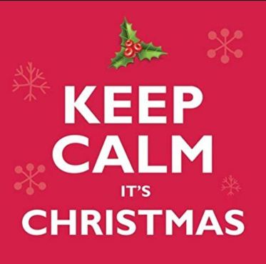 Kepp calm its christmas