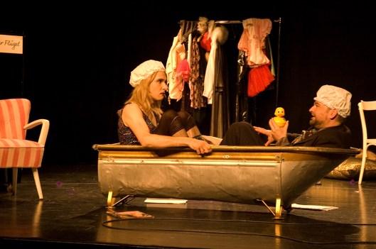 Verqueert. Foto: Anna Katharina Winkler. v.l.n.r.: Jonas Pätzold, Martin Frolowitz.