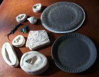 Plate making workshop part 2, decorating ceramic plates ...