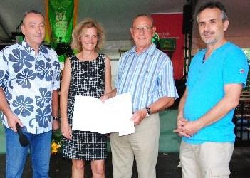 Manfred Hertling erhält Ehrennadel des Landes Rheinland-Pfalz  Großes Engagement für Kirmesgesellschaft Metternich und Förderverein zur Erhaltung der Alten Windmühle