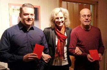 SPD-Ortsverein begrüßt neue Mitglieder und besucht das HOT