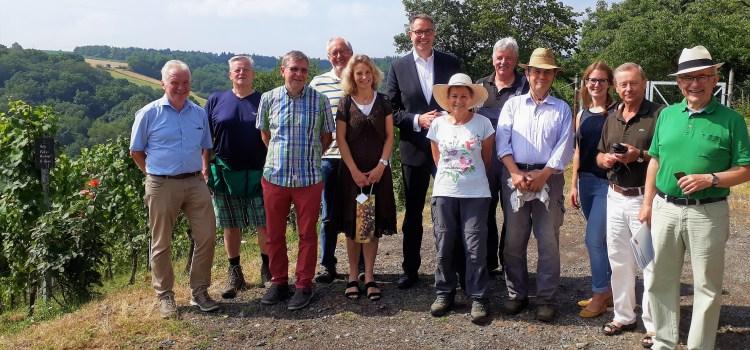 Schweitzer und Köbberling würdigen ehrenamtliches Engagement in Brey