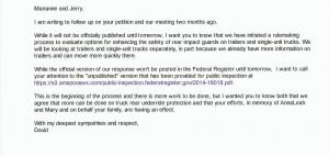 David Friedman underride email