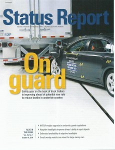IIHS October 2014 Status Report Cover