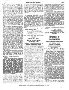 1969 NPRM, Docket No. 1-11; Notice 2