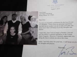 Joe Biden letter with Dad photo 007