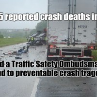 Death by Motor Vehicle. Shattered World. Broken Hearts. Preventable. When will compromise end?
