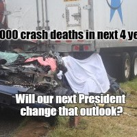 One more terrible truck crash tragedy. When will we set traffic safety as a national goal?