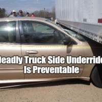 Side Underride Problem & Solutions Featured on The Today Show
