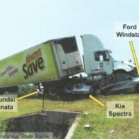 Overlooked Vulnerabilities in Truck Crashes: Damage to Steering Mechanism & Fuel Tank