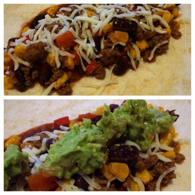 Mexicanisch Essen Wrap