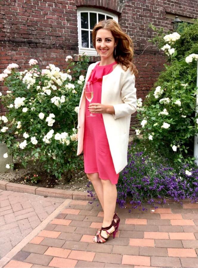 Kleid Pink Massimo Dutti Style Diary Annalena Loves
