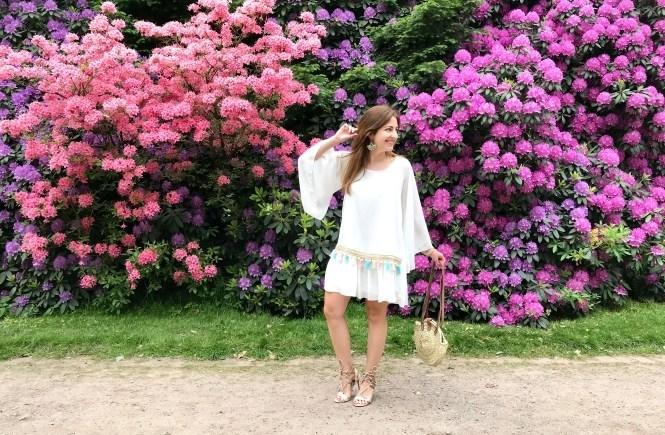 Sommerkleid Weiß Trend Kleider Annalena Loves