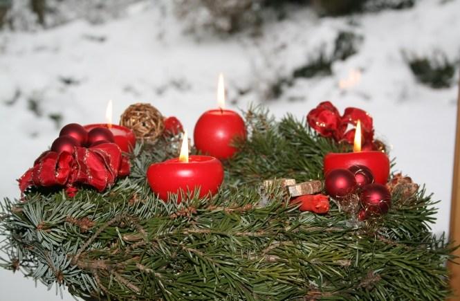 geschenkideen geschenke weihnachten eltern adventskranz