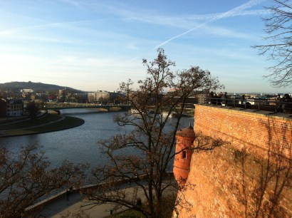 View from Wawel