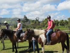 saskia op paard