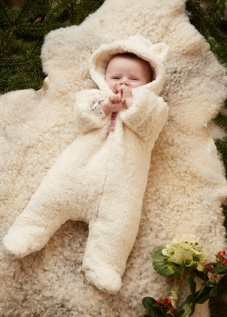 Little Grow - Baby Grow Snow Suit - Organic Cotton