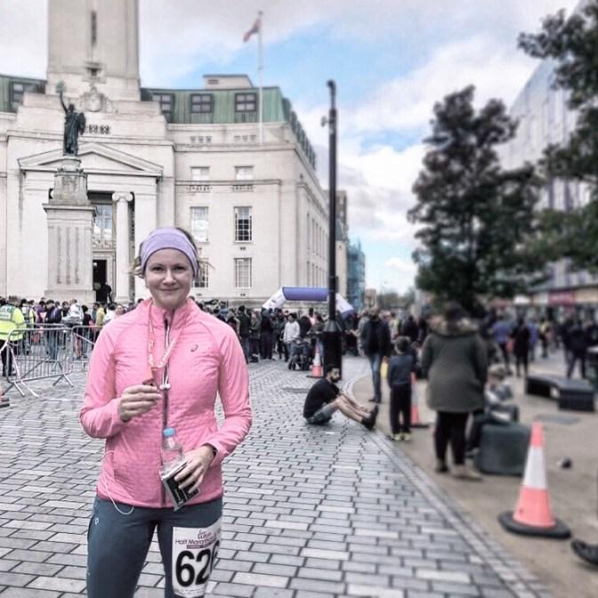 Můj druhý půlmaraton, poprvé v životě se po doběhnutí usmívam