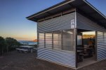 Snelling Beach: spazi attrezzati: acqua, BBQ e bagni (foto: Anna Luciani)
