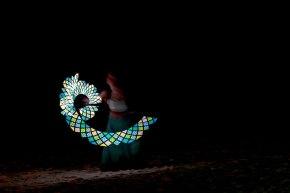 La ballerina sulla spiaggia (foto: Anna Luciani)