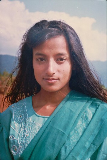 Sharada Shrestha, date and place unknown.
