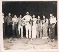 Madras, 1981. Komal Dhital, Amar Pulami, Tara Bhujel, Gayatri Dhakal, Shanti Shah, Sabitri Dhakal, Umba Raj Gurung