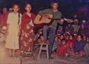 Gita Pakhrin, Homa Pakhrin, Khusiram Pakhrin, Chitwan, 1980s. Exact date unknown.