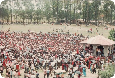 Chitwan, 1990, directly after the first People's Movement successfully brought democracy to Nepal.