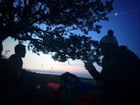 4am on an Essex hilltop
