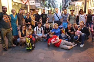The Greater London Microadventure crew